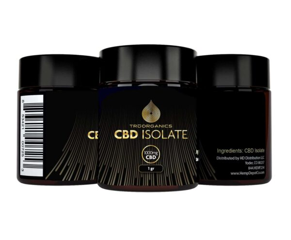Tru Organics - 99+% Pure CBD Isolate POWDER distributor