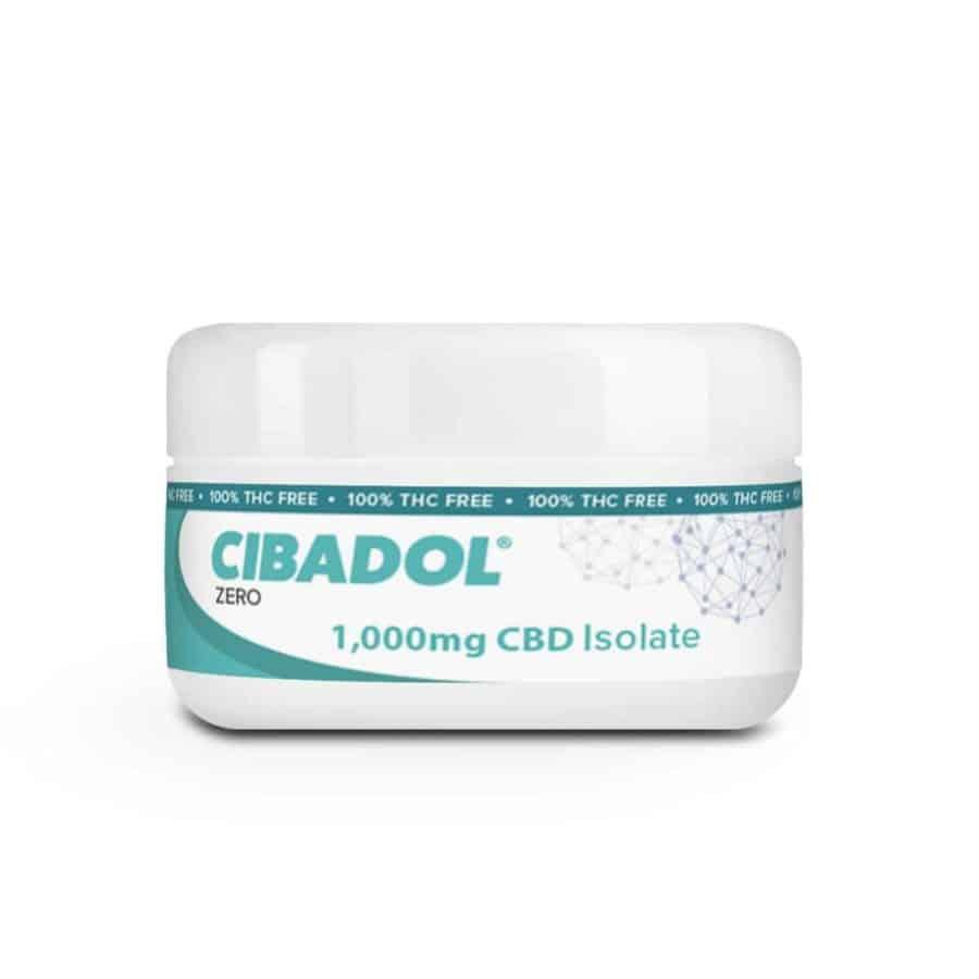 Cibadol ZERO - 99+% Pure wholesale cbd productsIsolate SLAB