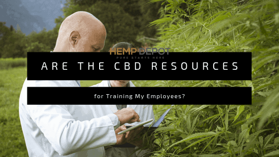 Are There CBD Resources for Training My Employees?