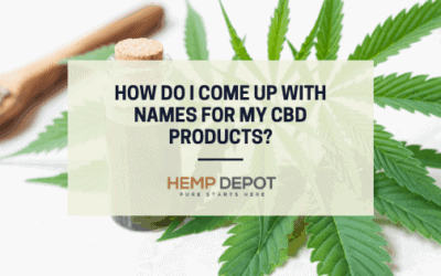 how do i come up with names for my cbd products