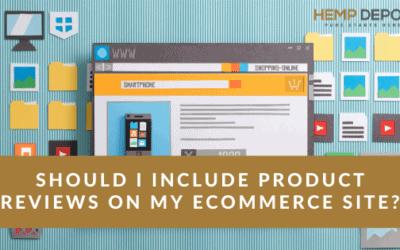 product reviews ecommerce site cbd
