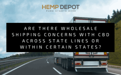 wholesale shipping concerns cbd