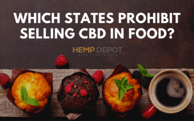 which states prohibit selling cbd in food