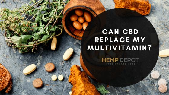 Can CBD Replace My Multivitamin?