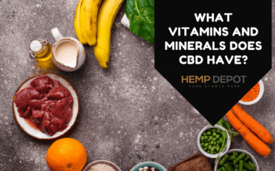 What Vitamins and Minerals Does CBD Have?