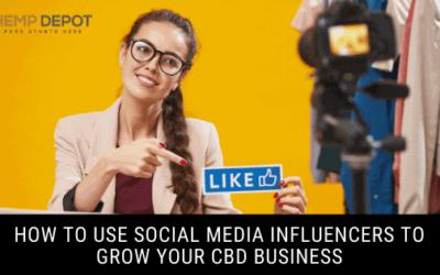 social media influencers cbd