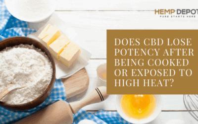 cbd potency cooked heat