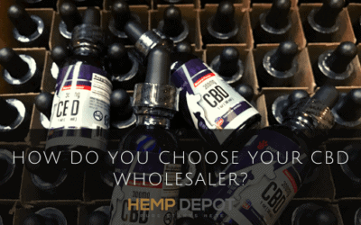 How Do You Choose Your CBD Wholesaler?