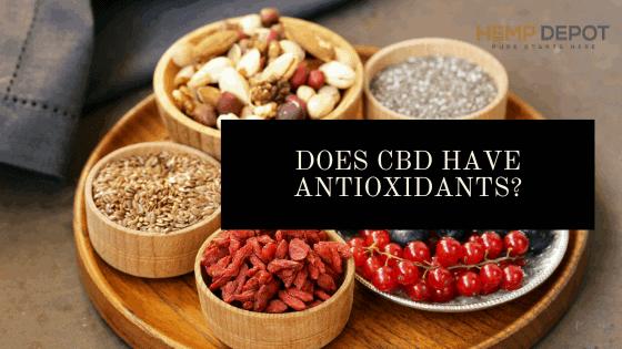 Does CBD Have Antioxidants?