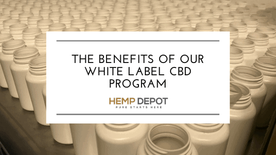The Benefits of Our White Label CBD Program