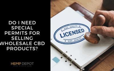 permits wholesale CBD products