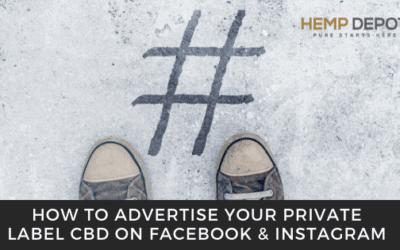 private label cbd facebook instagram