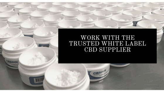 Work with the Trusted White Label CBD Supplier