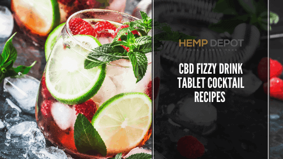 CBD Fizzy Drink Tablet Cocktail Recipes