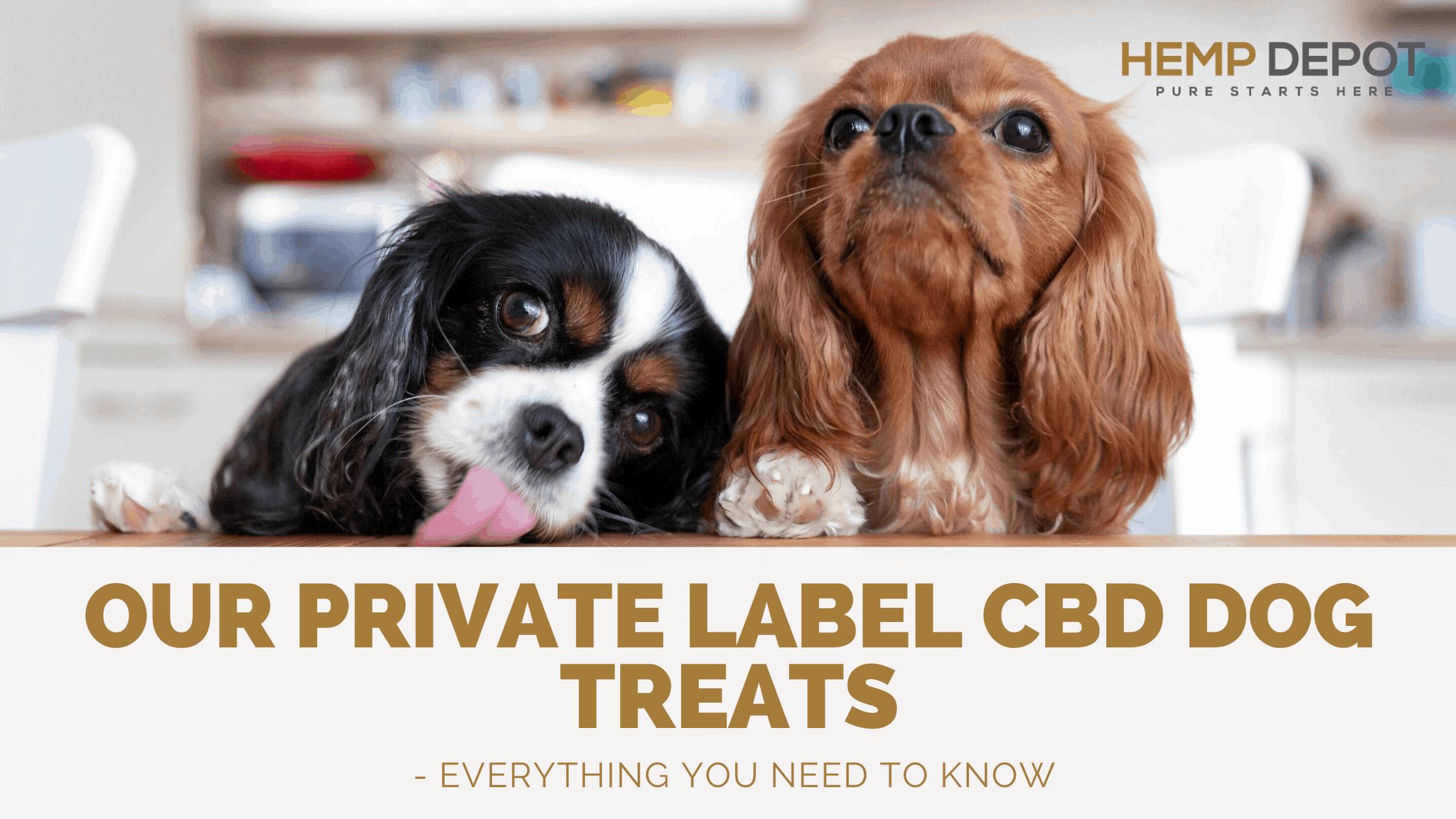 private label cbd dog treats hemp depot
