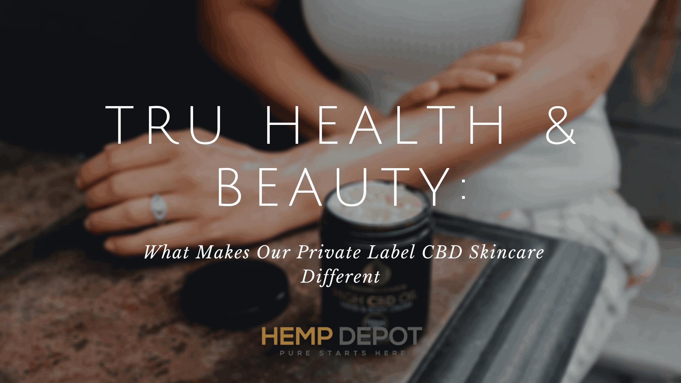 private label cbd skincare hemp depot