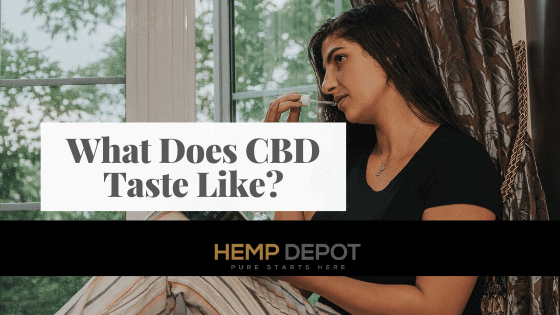 What Does CBD Taste Like?