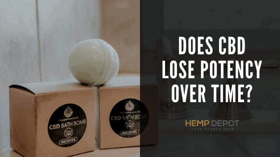 does cbd lose potency