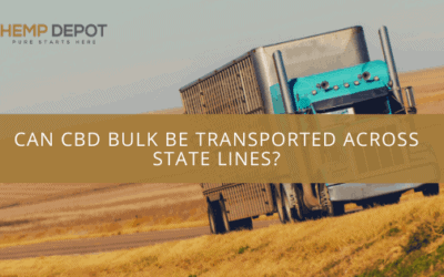 Can CBD Bulk Be Transported Across State Lines?
