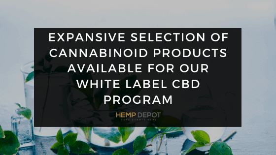 Expansive Selection of Cannabinoid Products Available for Our White Label CBD Program